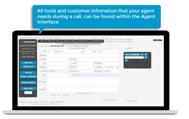 Agent interface v2